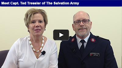 The Salvation Army recently celebrated its 150th anniversary. Hear about the great work they are doing in our backyard with Capt. Ted Tressler in this week's Member Spotlight.