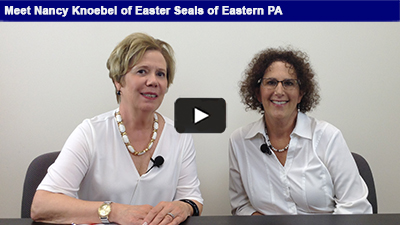 Easter Seals of Eastern PA has been helping individuals with disabilities and special needs for over 100 years! Nancy Knoebel explains their large scope of work in this interview with Karen Marsdale, Chamber President