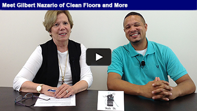 Gilbert Nazario, Clean Floors and More, is taking the steps to listen carefully to his customers, and specializes in providing a comprehensive cleaning service plan tailored to each client!
