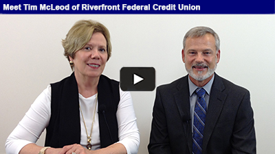 Tim McLeod of Riverfront Credit Union discusses the benefits of banking with a credit union locally – hear more in this edition of Member Spotlight.