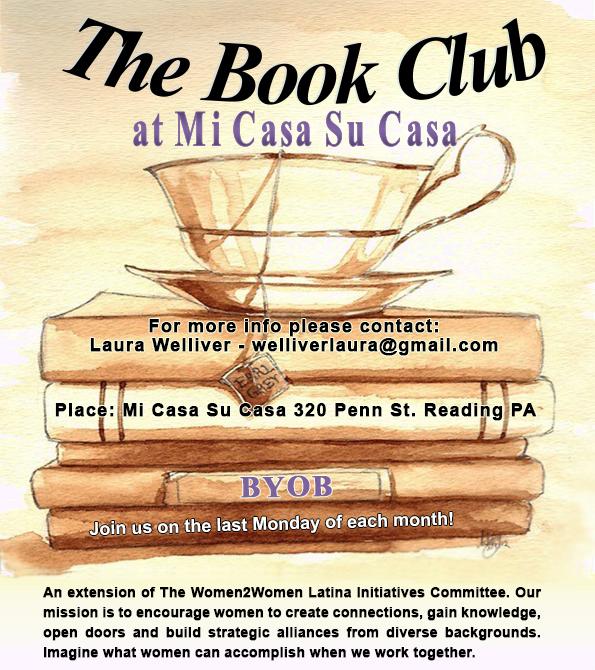 The Book Club at Mi Casa Su Casa