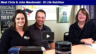 Member Spotlight Meet Chris & John Macdonald with ID LIFE Nutrition Programs. ID Life believes you're unique, and your health and wellness plan should be too! SHOW MORE