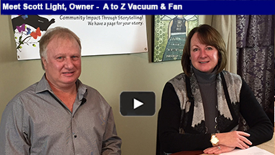 A to Z Vacuum & Fan's family biz has been keeping households tidy for more than 49 years!