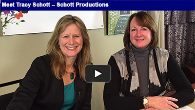 From concept to delivery, Schott Productions doesn't miss a detail in telling your story.