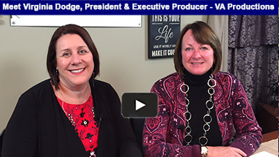 Member Spotlight Meet Virginia Dodge: VA Productions has been producing high-quality video production for over 20 years in Berks and around the globe.