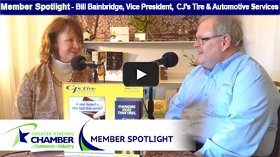 Bill Bainbridge of CJ Tires talks about the family-owned business, and how they believe they're changing more than tires!