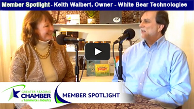Member Spotlight - Keith Walbert discusses the name behind his business, White Bear Technology Services