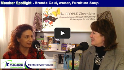 Keep warm with a big serving of what's new at Furniture Soup with business owner, Brenda Gaul.