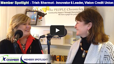 Ellen Horan speaks to Trish Shermot about the benefits of credit unions.
