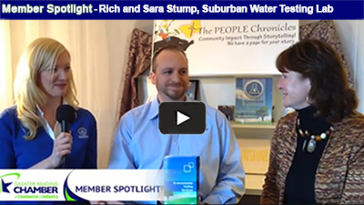"Suburban Water Testing Lab's Rich and Sara Stump encourage us to ""better know our H2O"" when it comes to drinking water, wastewater, and pool and spa testing!"