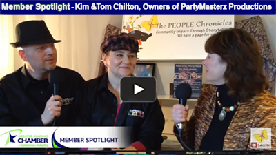 There is always a reason to party with Kim and Tom Chilton of PartyMasterz Productions, who encourage their customers to plan easy, and party hard - leaving the entertainment to the professionals!