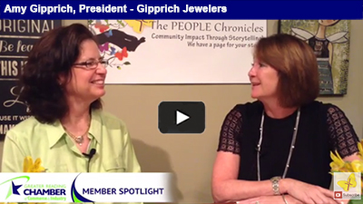 Gipprich Jewelers continues to sparkle with great customer service and satisfaction.