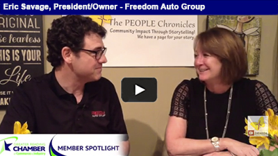 As a #lifeimprovementbusiness, Eric Savage has fostered more than just a  great car dealership at Freedom Auto Group!.