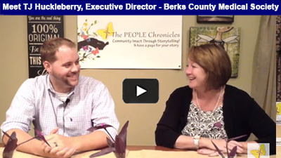 Berks County Medical Society names a new Executive Director - meet TJ Huckleberry!