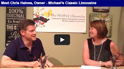 Michael's Classic Limo is in the business of helping you arrive in style - hear more from Chris Haines