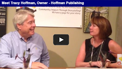 Coming to a newsstand near you – Tracy Hoffman of Hoffman Publishing talks business in Berks.