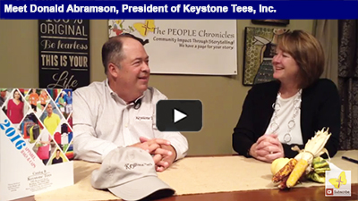 Celebrating 40 years in business, Keystone Tees is a proud second-generation family biz in Berks!