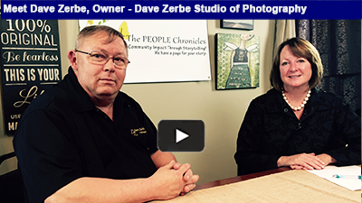 From pets to weddings, Dave Zerbe Photography and his family have been snapping great shots for over 38 years!