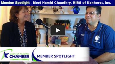 Member Spotlight - Hamid Chaudhry, Owner of HIBS of Kenhorst
