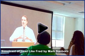 Simulcast of Lead Like Fred by Mark Sanborn