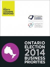 2014 Ontario Election Business Priorities