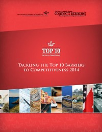 Top 10 Barriers to Competitiveness for 2014