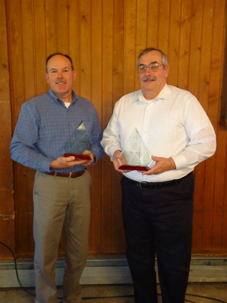 Roy and Jack Gibbs, 2017 Farmer of the Year award recipient