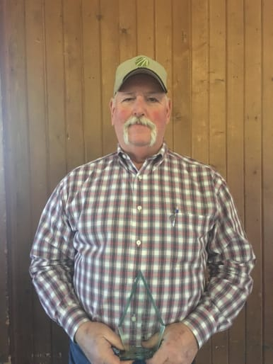 Greg Diedrich, 2018 Farmer of the Year award recipient