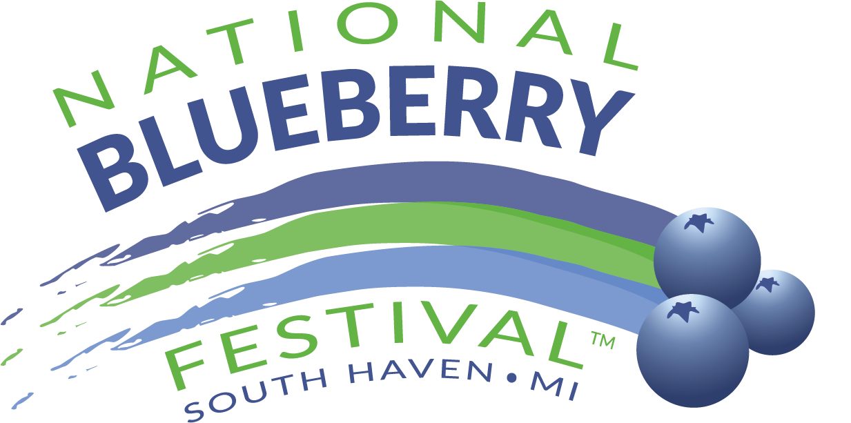 National Blueberry Festival Logo