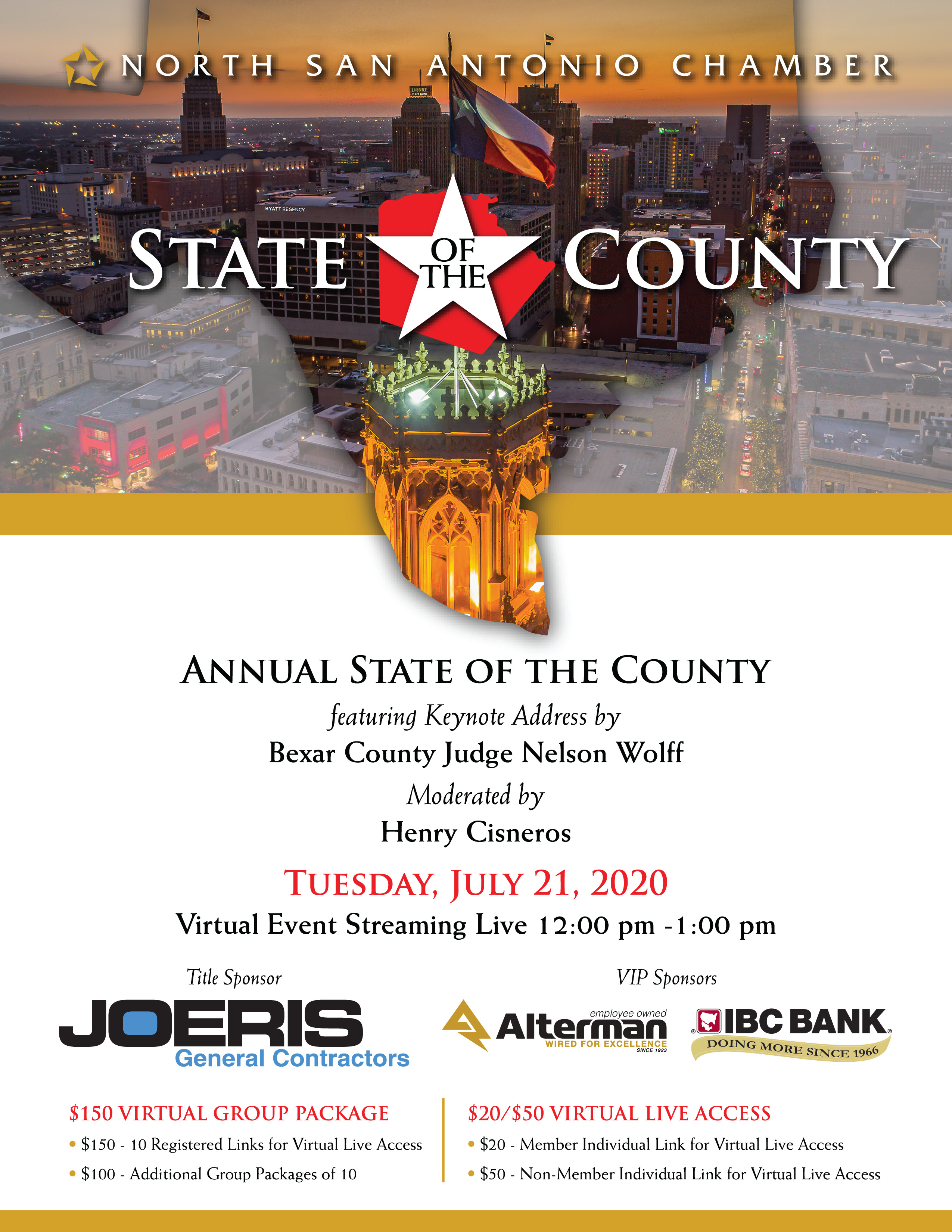 2020 North SA Chamber | State of the County