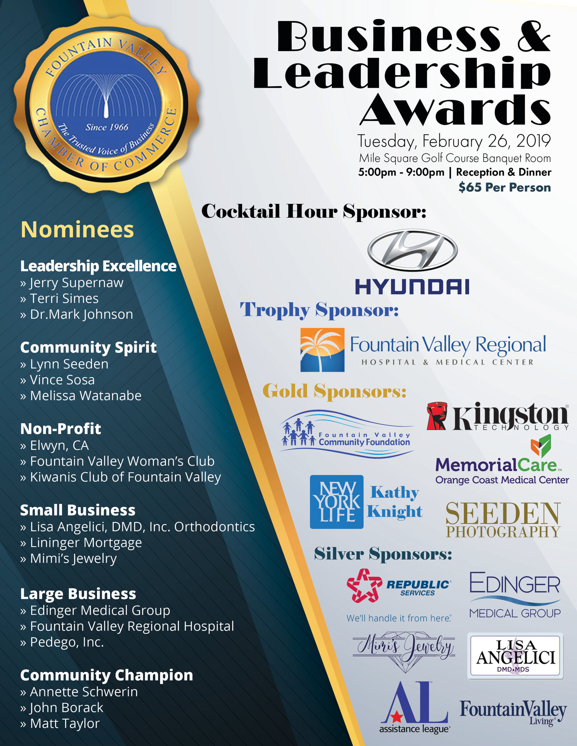 Business and Leadership Awards
