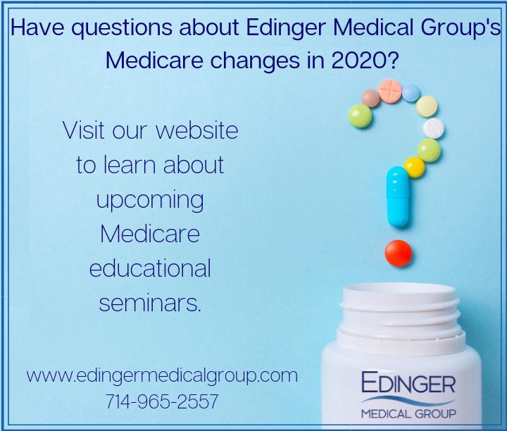 Learn more about Edinger Medical's Medicare Seminars
