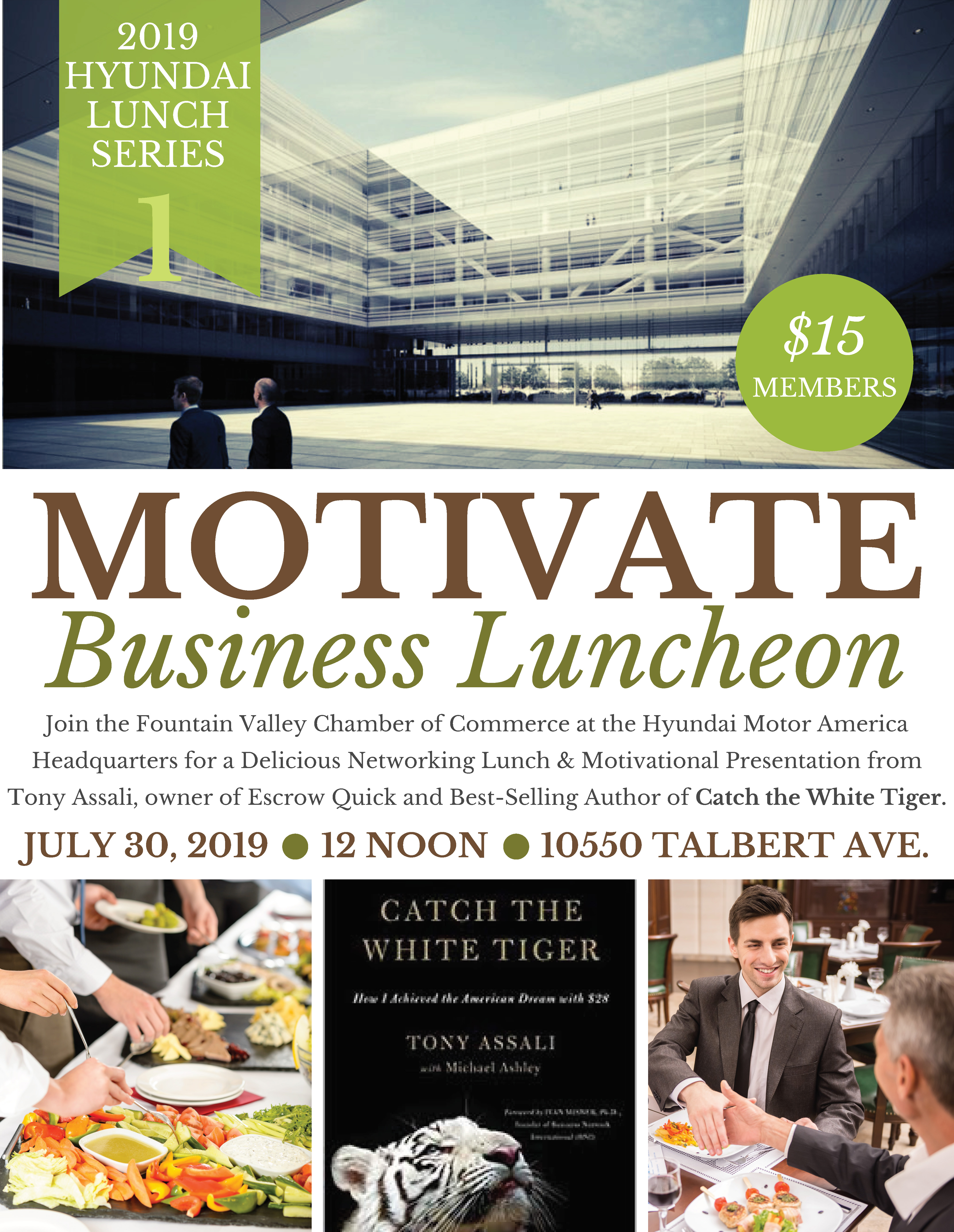 Motivate Business Luncheon