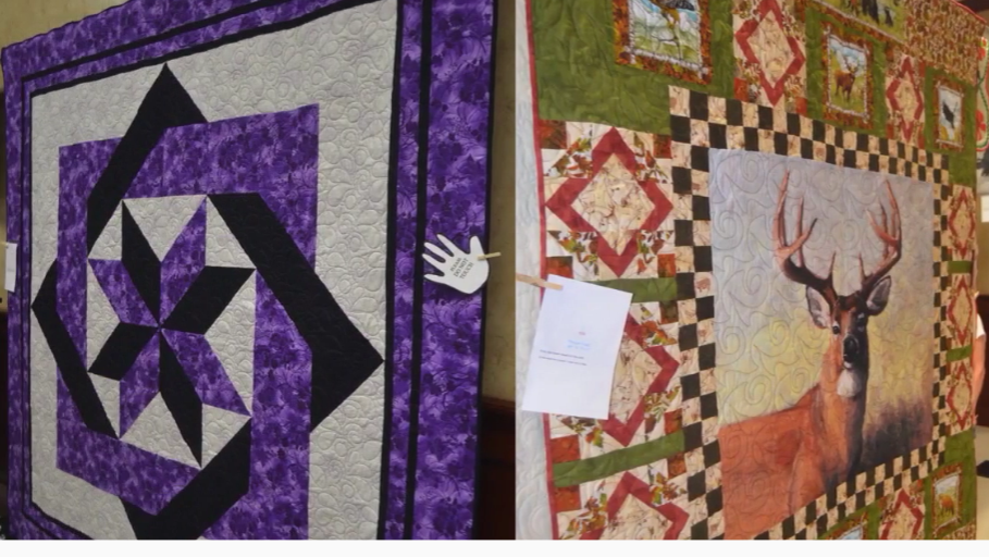 Pictures from the Quilt Show, Car Show, and more. Click this photo to watch the video.
