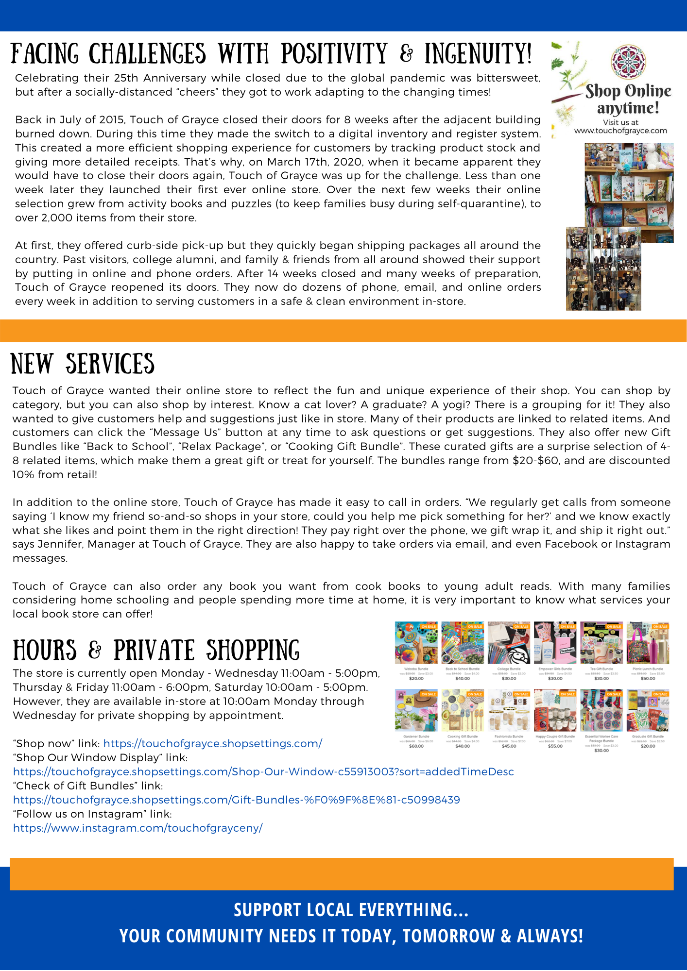 Touch of Grayce Member Momentum Article Page 2