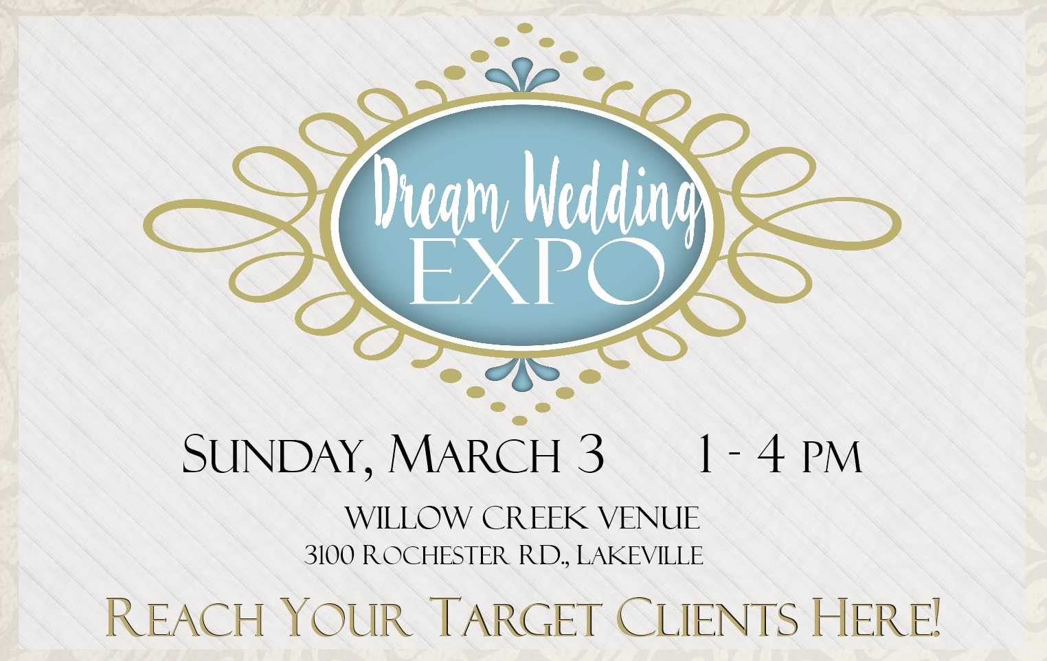Dream Wedding Expo, Bridal Show, Weddings IN Livingston, Livingston County Chamber, Destination Weddings, Rochester Weddings, Western NY Weddings, GLOW Weddings,