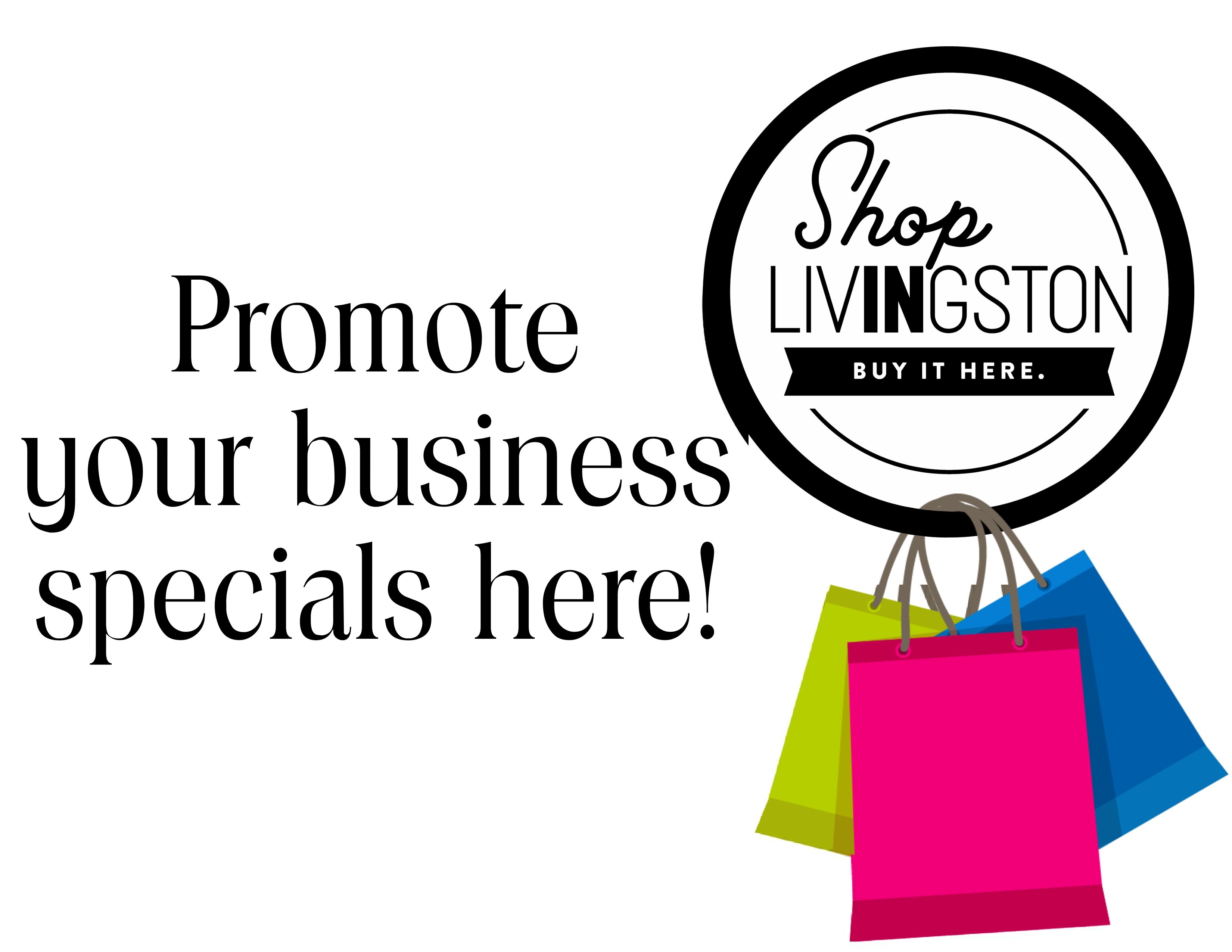 Shop IN Livingston, Trip Planner, Shop Local, Find It IN Livingston, Livingston County Chamber, Holiday, Sales, Specials
