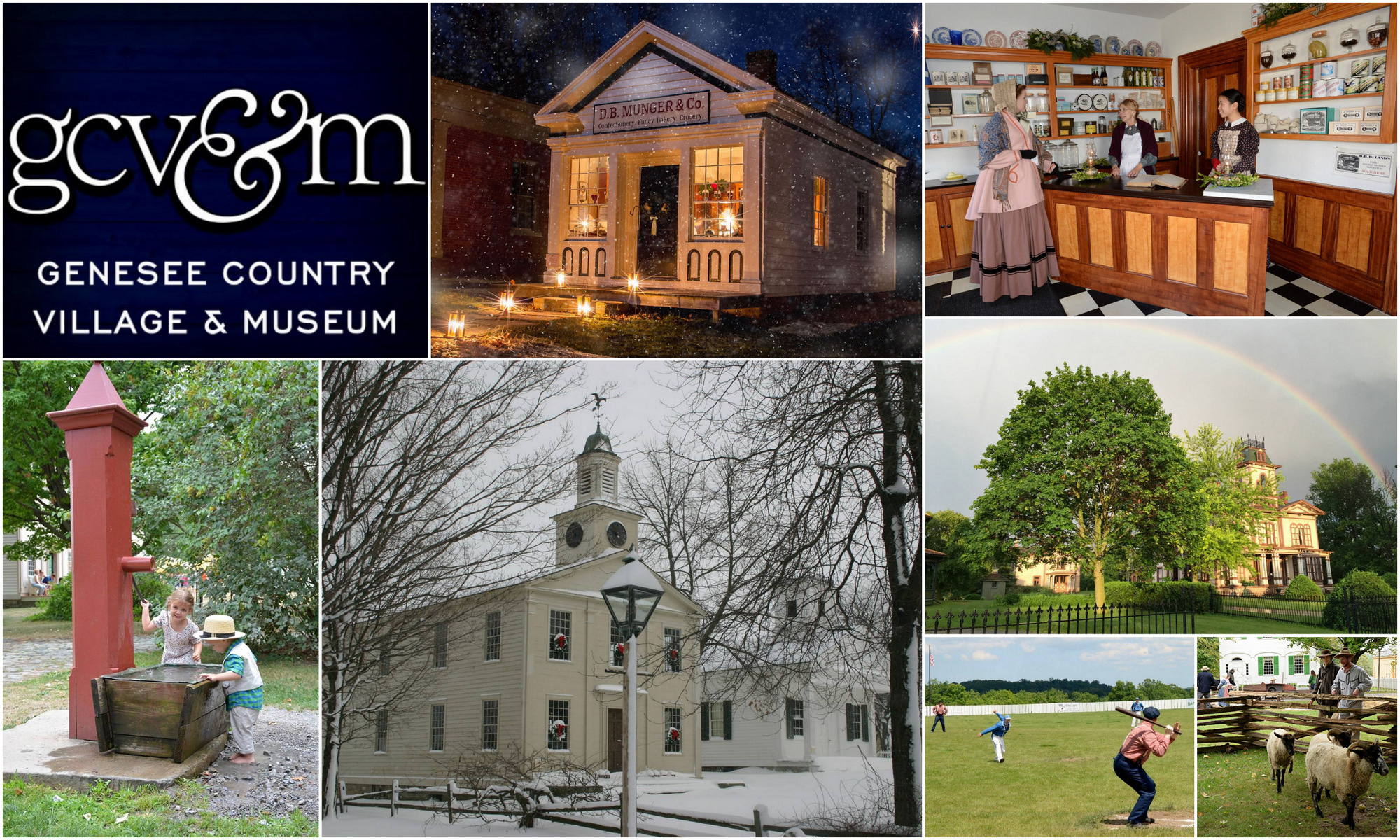 Genesee Country Village & Museum, Livingston County Chamber, Trip Planner