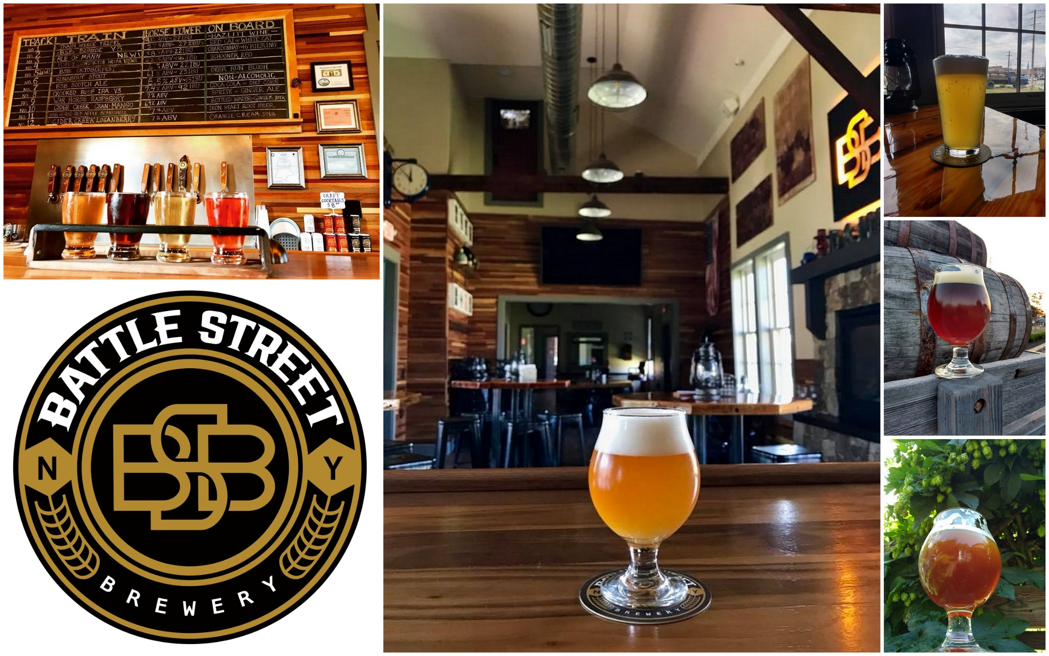 Battle Street Brewery, BSB, Dansville NY, Livingston County Chamber of Commerce & Tourism, Trip Planner, Happy Hour, Craft Beer, Libation Loop