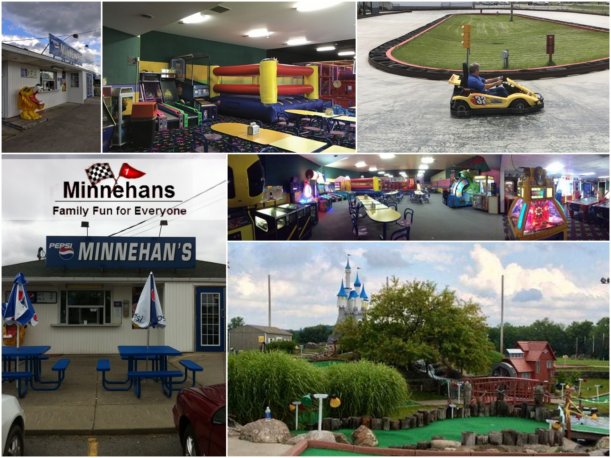 Minnehan's Family Fun Center, Lakeville, Minnehans, February Specials, Livingston County Chamber, Attractions, Trip Planner,