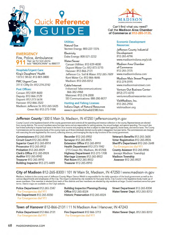Madison-IN-Quick-Reference-Guide-Important-Numbers-City-County-Hanover