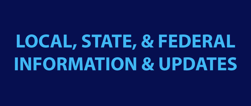LOCAL STATE FEDERAL GOVERNMENT INFORMATION AND UPDATES MADISON INDIANA CORONAVIRUS COVID-19