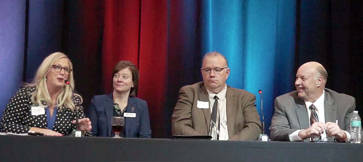 Madison Panel Katie Jenner, Molly Dodge, Matt Wirth and Dave Ungru at Indianapolis Summit on Tuesday, April 24, 2018.