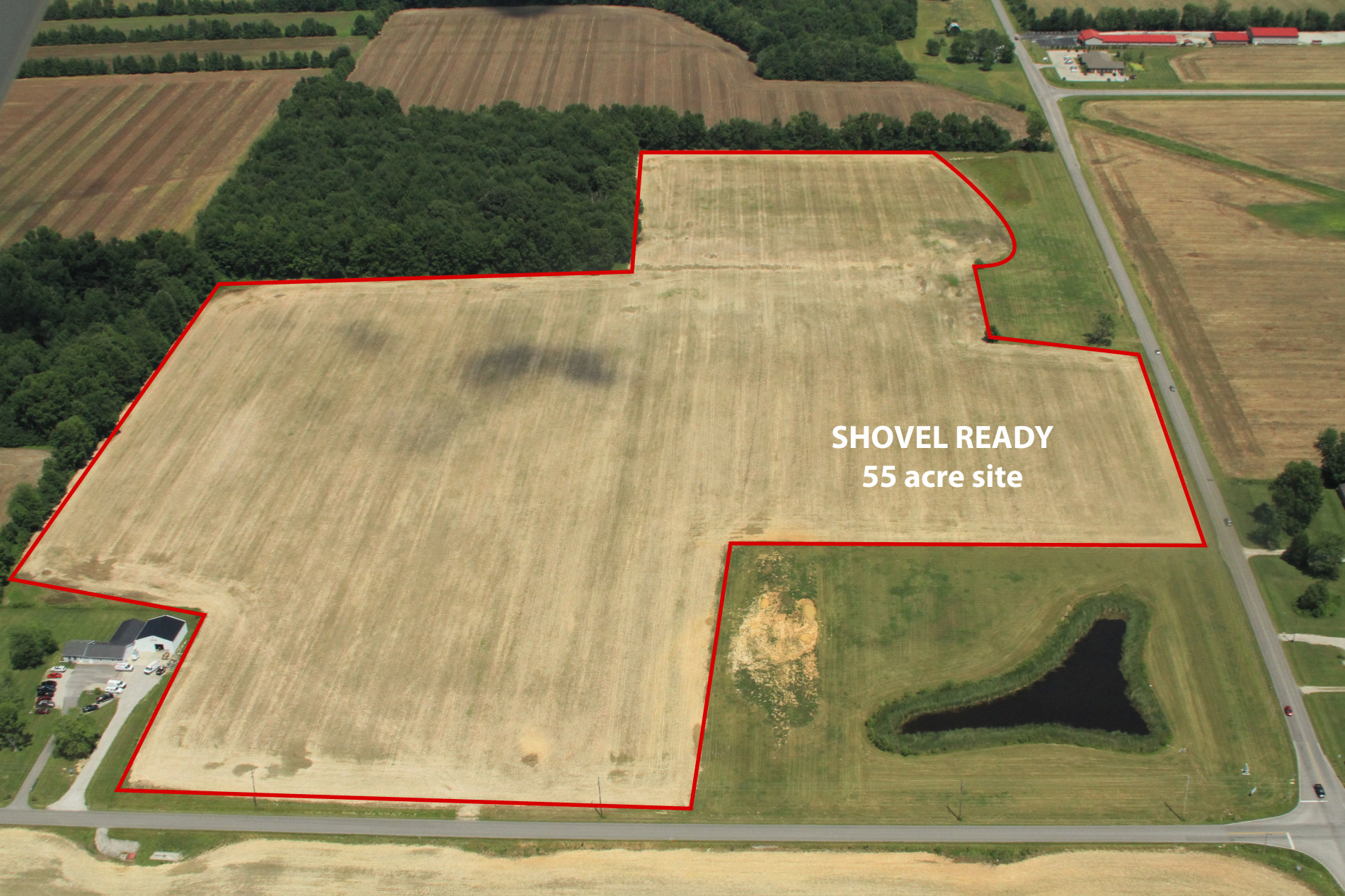 Madison Indiana Jefferson County Industrial Development Shovel Ready Site Relocate Locate Your Business