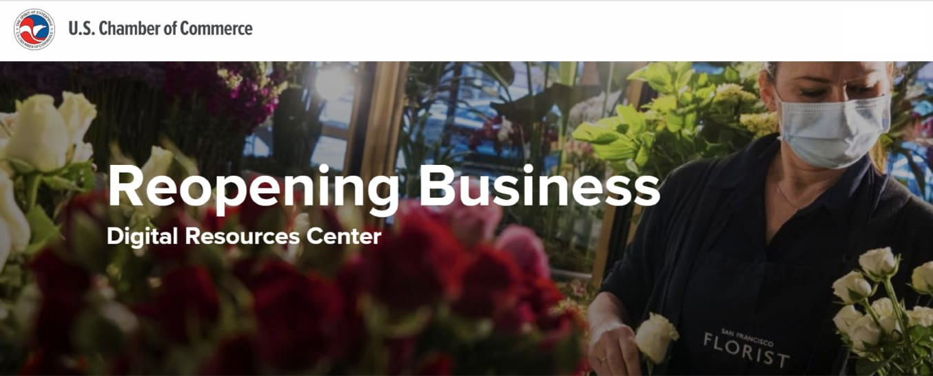 US Chamber reopening your business resources after covid-19