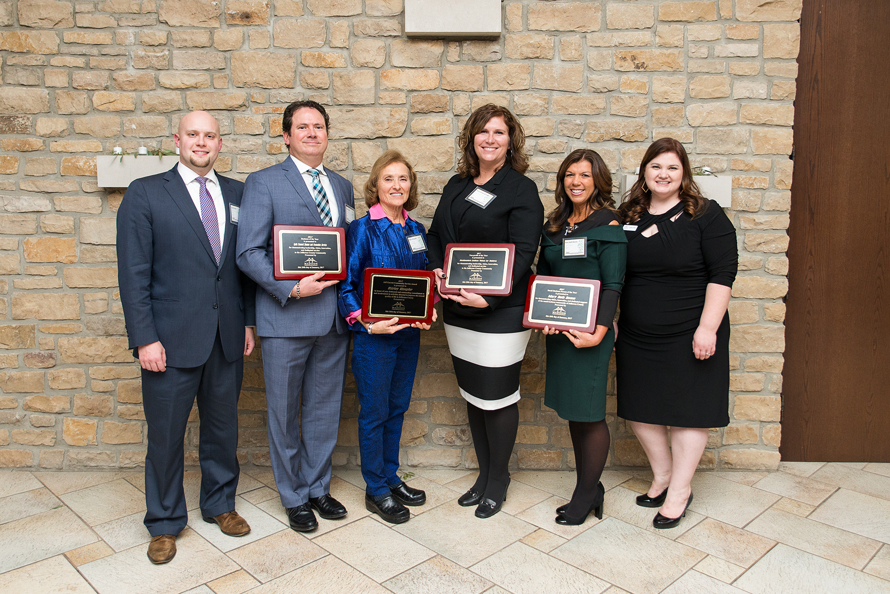 Community Service, Business of the Year, Nonprofit of the Year, and Small Business Person of the Year - Madison, Indiana Chamber