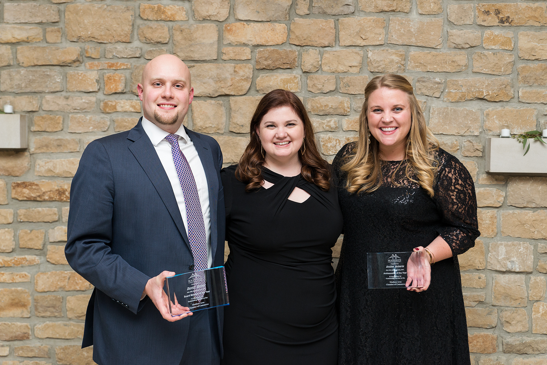 Madison Indiana Chamber Board Member of the Year and Ambassador of the Year 2017
