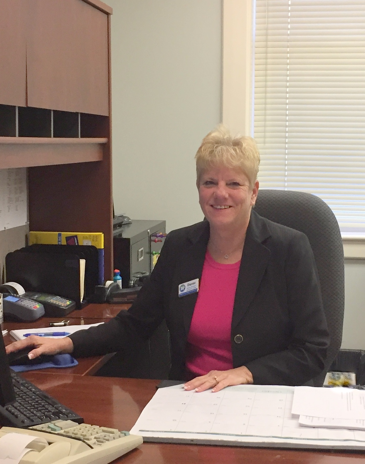 Dianne Bicknase, Administrative Assistant