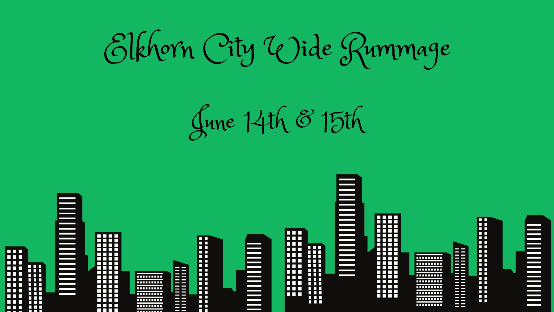City Wide Rummage - Elkhorn Area Chamber of Commerce, WI