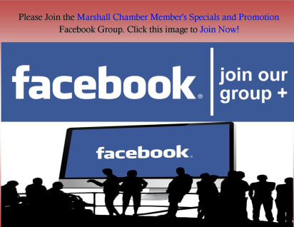 Join our group for the latest Specials and Promotions